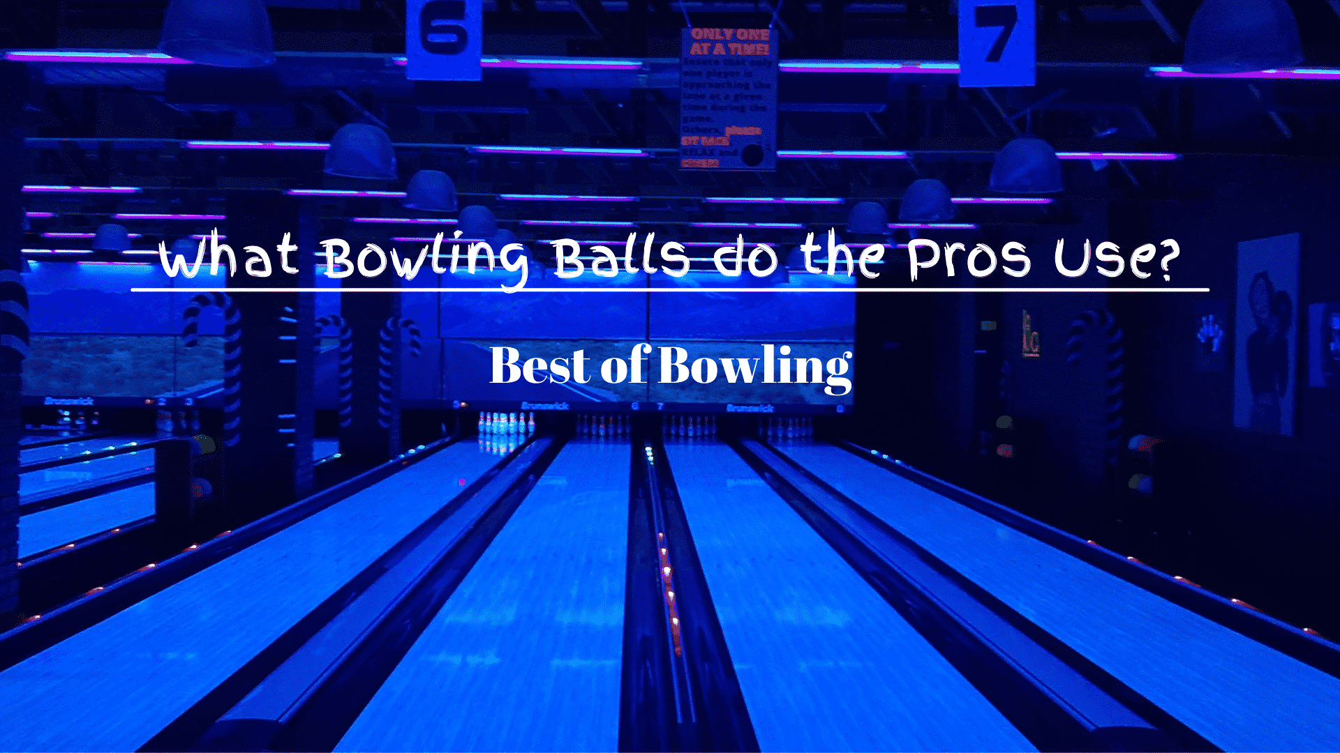 What Bowling Balls do the Pros Use